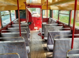 Classic London bus wedding hire in Daventry